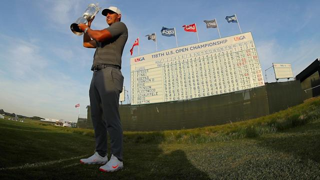 Brooks Koepka is striving for his third consecutive U.S. Open title, having won the last two editions. Who is the one man who has won three in a row?