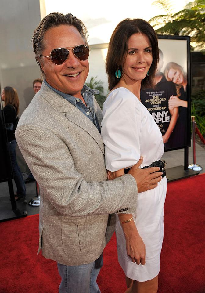 """<a href=""""http://movies.yahoo.com/movie/contributor/1800019006"""">Don Johnson</a> and wife Kelley Phleger at the Los Angeles premiere of <a href=""""http://movies.yahoo.com/movie/1810041785/info"""">Funny People</a> - 07/20/2009"""