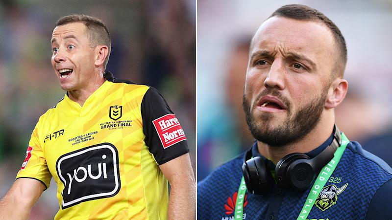 Josh Hodgson has shifted focus away from the Ben Cummins refereeing controversy.