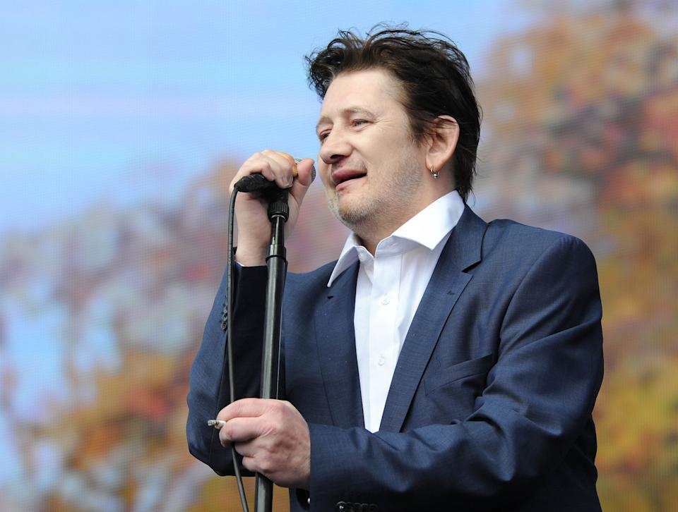Barclaycard British Summer Time Concert, Hyde Park, London, Britain - 05 Jul 2014, The Pogues - Shane Macgowan (Photo by Brian Rasic/Getty Images)