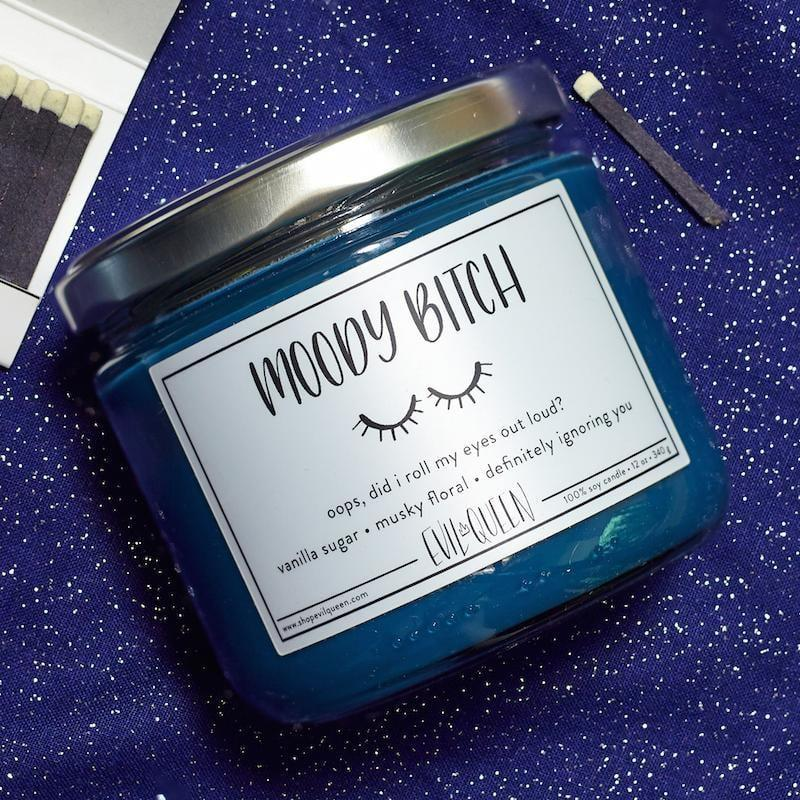 "<p>The <a href=""https://www.popsugar.com/buy/Moody-Btch-Candle-489803?p_name=Moody%20B%2Atch%20Candle&retailer=alwaysfits.com&pid=489803&price=25&evar1=casa%3Aus&evar9=46606033&evar98=https%3A%2F%2Fwww.popsugar.com%2Fhome%2Fphoto-gallery%2F46606033%2Fimage%2F46606036%2FMoody-Btch-Candle&list1=humor%2Chome%20decor%2Ccandles&prop13=mobile&pdata=1"" rel=""nofollow"" data-shoppable-link=""1"" target=""_blank"" class=""ga-track"" data-ga-category=""Related"" data-ga-label=""http://alwaysfits.com/products/moody-bitch-candle-smells-like-vanilla-sugar-musky-floral-definitely-ignoring-you?_pos=1&amp;_sid=b3394c943&amp;_ss=r"" data-ga-action=""In-Line Links"">Moody B*tch Candle</a> ($25) has a gorgeous midnight blue color. </p>"