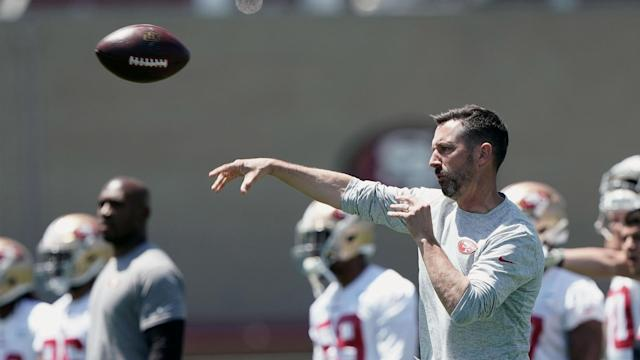 After his first two seasons coaching the 49ers, there isn't much room anywhere else but up.
