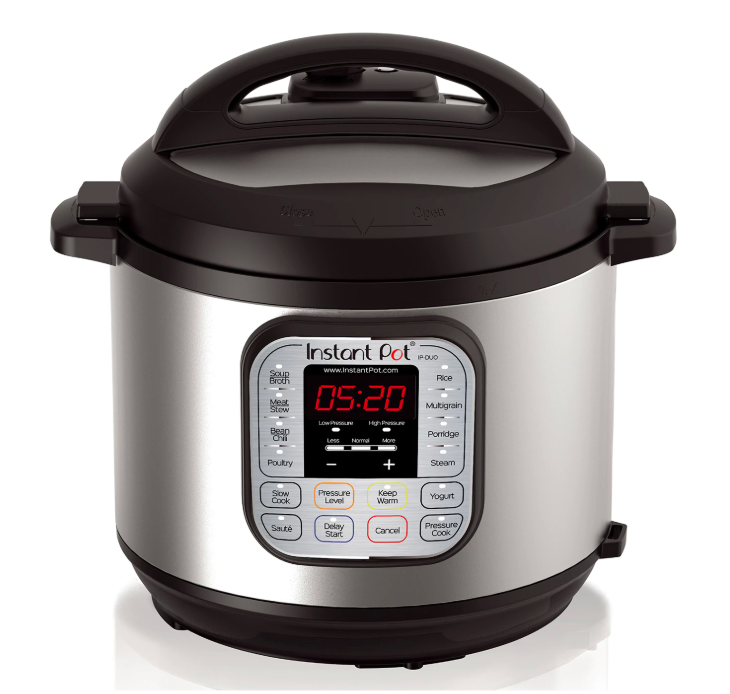 Instant Pot Duo 7-in-1 Programmable Pressure Cooker. (Photo: Kohl's)