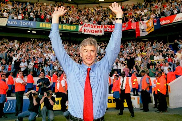 Wenger rejected offers from the continent to nurture his revolutionary vision at Arsenal (Arsenal FC via Getty Images)
