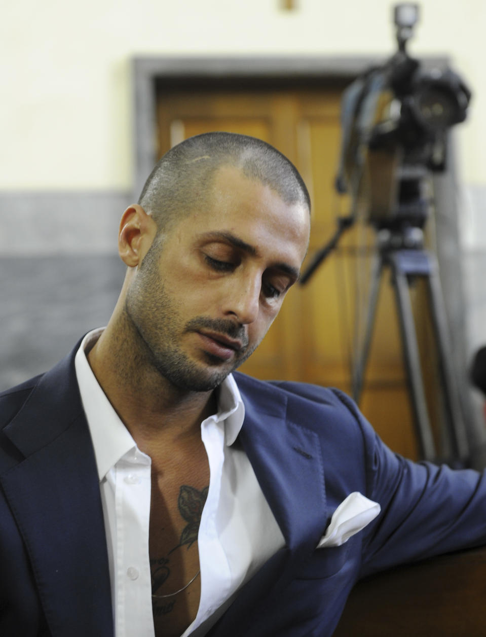 Fabrizio Corona (AP Photo/Antonio Calanni)