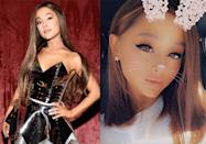 <p>Following her split with fiancé Pete Davidson, the queen of waist-length tresses gave her fans a rare treat: a pic of her natural hair sans extensions. I'm fully living for this change on Ari. Long live breakup hair! </p>