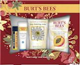 """<strong>Burt's Bees</strong> amazon.com <strong>$19.44</strong> <a href=""""https://www.amazon.com/dp/B086ZJZMQK?tag=syn-yahoo-20&ascsubtag=%5Bartid%7C10055.g.4079%5Bsrc%7Cyahoo-us"""" rel=""""nofollow noopener"""" target=""""_blank"""" data-ylk=""""slk:Shop Now"""" class=""""link rapid-noclick-resp"""">Shop Now</a> Festive cheer aside, winter brings dry, chapped skin and lips. This four-piece set is packed with everything she needs for a deep clean and hydration boost, including their cult-favorite lip balm."""