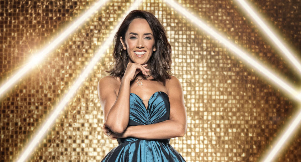 WARNING: Embargoed for publication until 00:00:01 on 21/09/2021 - Programme Name: It Takes Two 2021 - TX: 27/09/2021 - Episode: Generics (No. n/a) - Picture Shows:  Janette Manrara - (C) BBC - Photographer: Ray Burmiston