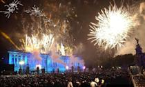 <p>The show, Party and the Palace, was one of the most-watched pop concerts in history, attracting over 200 million viewers. At the second concert, a crowd of around one million gathered to listen to the music.</p>