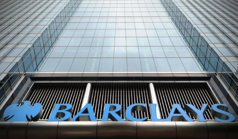 British bank Barclays reports profits after taxation diving but group pre-tax profit more than doubling in the first quarter