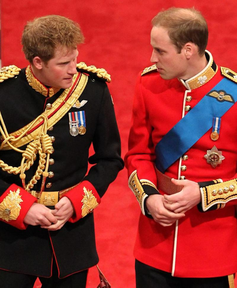 It comes after it was revealed that while the brothers are extremely close, Prince William won't actually be Prince Harry's best man on the day. Photo: Getty Images