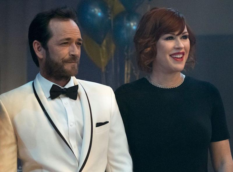 Luke Perry and Molly Ringwald inRiverdale   Katie Yu/The CW