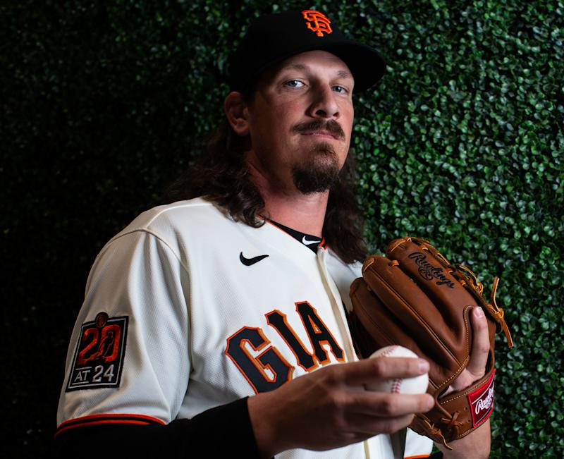 Giants pitcher Jeff Samardzija rips owners, says they will risk players health if it means making more money. (Photo by Rob Tringali/Getty Images)
