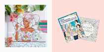 """<p class=""""body-dropcap"""">If you're looking for a way to unwind that doesn't involve other people or your Netflix queue, get ye to the coloring book store (or, um, Amazon). </p><p>Yep, coloring is a calming mindfulness activity that allows those racing thoughts about your last Zoom call to settle as you focus on choosing colors, filling in the lines, or just scribbling. """"Using art in a way where it's not so much about what it looks like, but the process of doing it—that's therapeutic,"""" says board-certified art therapist, <a href=""""https://www.richmondcreativecounseling.com/LeilaSaadehLPCATRBC.en.html#:~:text=Leila%20is%20able%20to%20provide,informed%20approach%20to%20art%20therapy."""" rel=""""nofollow noopener"""" target=""""_blank"""" data-ylk=""""slk:Leila Saadeh, LPC,"""" class=""""link rapid-noclick-resp""""> Leila Saadeh, LPC,</a> president of the <a href=""""https://www.vaarttherapy.org/"""" rel=""""nofollow noopener"""" target=""""_blank"""" data-ylk=""""slk:Virginia Art Therapy Association"""" class=""""link rapid-noclick-resp"""">Virginia Art Therapy Association</a>.<br><br>Unsolicited pro tip: If you're heavy-handed like me, I invest in colored pencils over crayons. You don't want to be mid-stroke when something breaks. That goes for more than coloring. <br></p><p>Oh, one more thing, to get the chill benefits of mindful coloring, it's important that you pay attention to your breath, the colors you're using, and the pages you select, says Saadeh. </p><p>So press pause on your work and refresh your mind within the pages of these gorge coloring books. Pictures are more fun to look at anyway.</p>"""