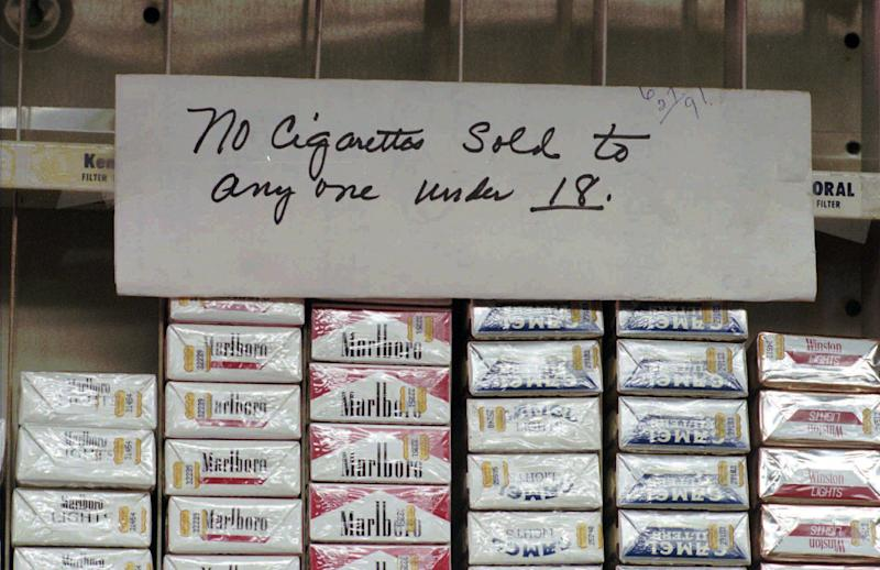 Report: Underage tobacco sales at record lows