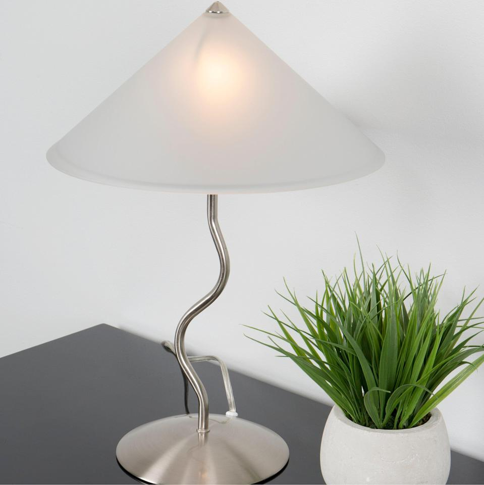 "<br><br><strong>Latitude Run</strong> Glossop Touch 19"" Table Lamp, $, available at <a href=""https://go.skimresources.com/?id=30283X879131&url=https%3A%2F%2Fwww.wayfair.com%2Flighting%2Fpdp%2Flatitude-run-glossop-touch-19-table-lamp-latd1782.html"" rel=""nofollow noopener"" target=""_blank"" data-ylk=""slk:Wayfair"" class=""link rapid-noclick-resp"">Wayfair</a>"
