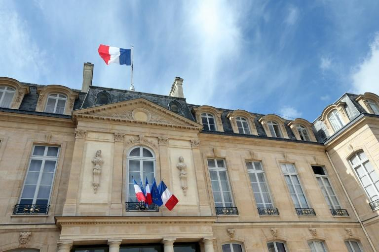 Half a dozen current or former members of the main right-wing party, The Republicans (LR), are vying to run against Emmanuel Macron for the Elysee Palace (AFP/THOMAS SAMSON)