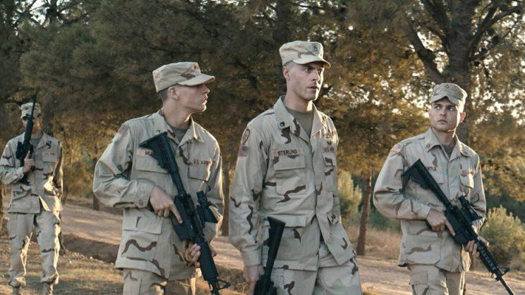 Alexandre Moors' 'The Yellow Birds' follows two young men who enlist in the army and are deployed to fight in the Gulf War. (Courtesy of the Sundance Institute)