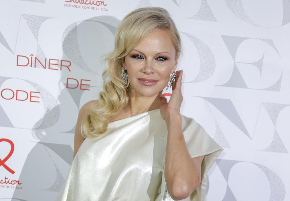 <p>Pamela Anderson married bodyguard Dan Hayhurst over Christmas: 'I'm exactly where I need to be'.</p> (Getty Images)