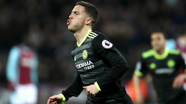 Antonio Conte has responded to increasing speculation around Eden Hazard's future as Real Madrid continue to be linked with a bid.