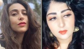 Karisma Kapoor's doppelganger recreates a scene from Andaz Apna Apna in her Tik Tok video; Watch