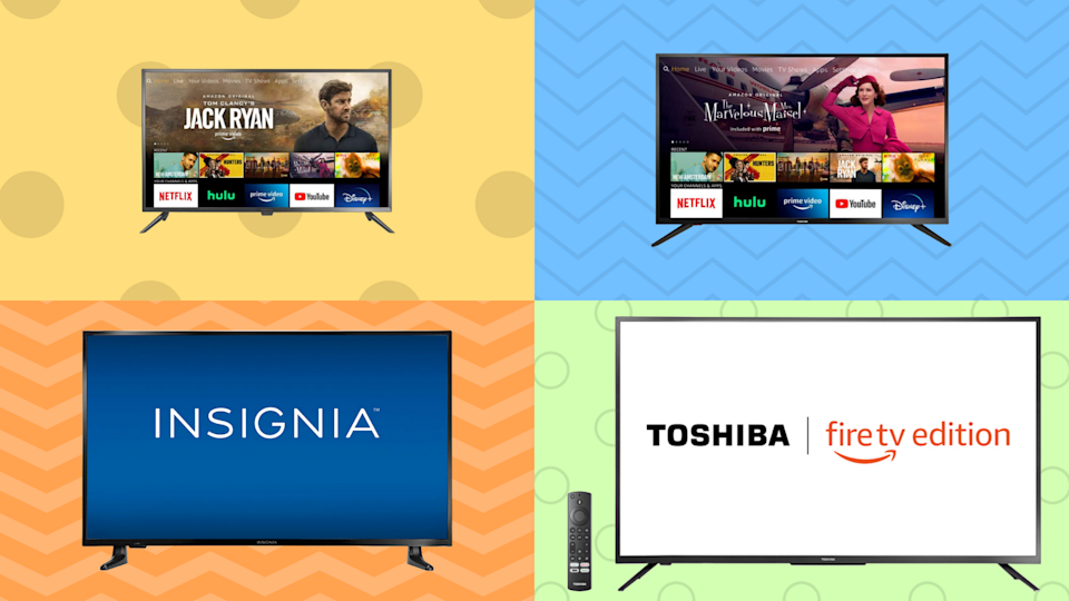 Early Prime Day deals: Save up to 41 percent on all sorts of Fire TV Edition TVs! (Photo: Amazon)