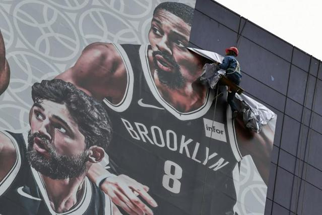 A tweet by a senior NBA team official sparked strong complaints last year (AFP Photo/HECTOR RETAMAL)