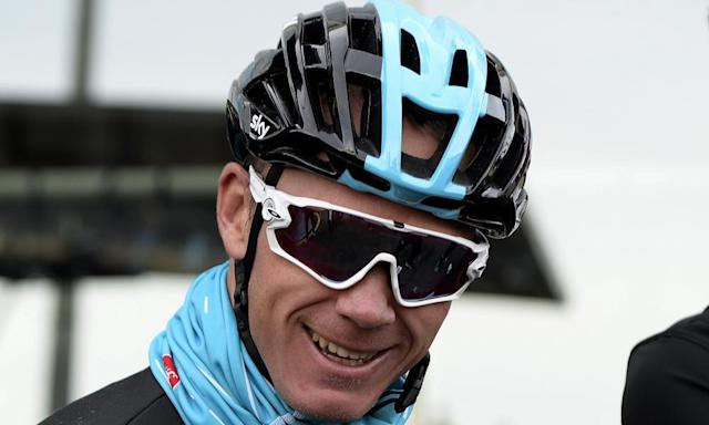 "<span class=""element-image__caption"">Chris Froome has begun the PR battle with confident TV appearances in response to his failed test.</span> <span class=""element-image__credit"">Photograph: Joan Llado/AP</span>"