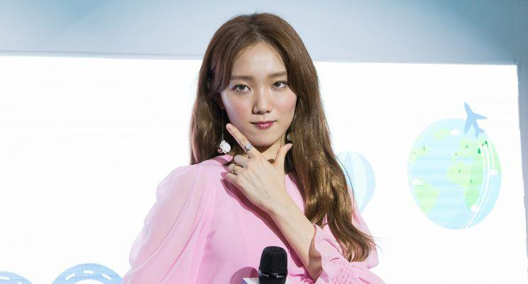 Weightlifting Fairy Kim Bok-joo star Lee Sung-kyung in Singapore. (Photo: Linda Tan for Yahoo Lifestyle Singapore)