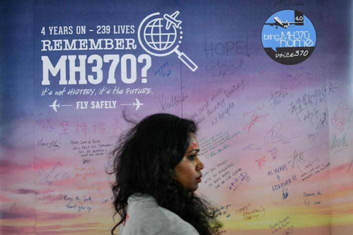 Malaysia Airlines Flight 370 disappeared in March 2014 with 239 people onboard while en route from Kuala Lumpur to Beijing (AFP Photo/Manan VATSYAYANA)