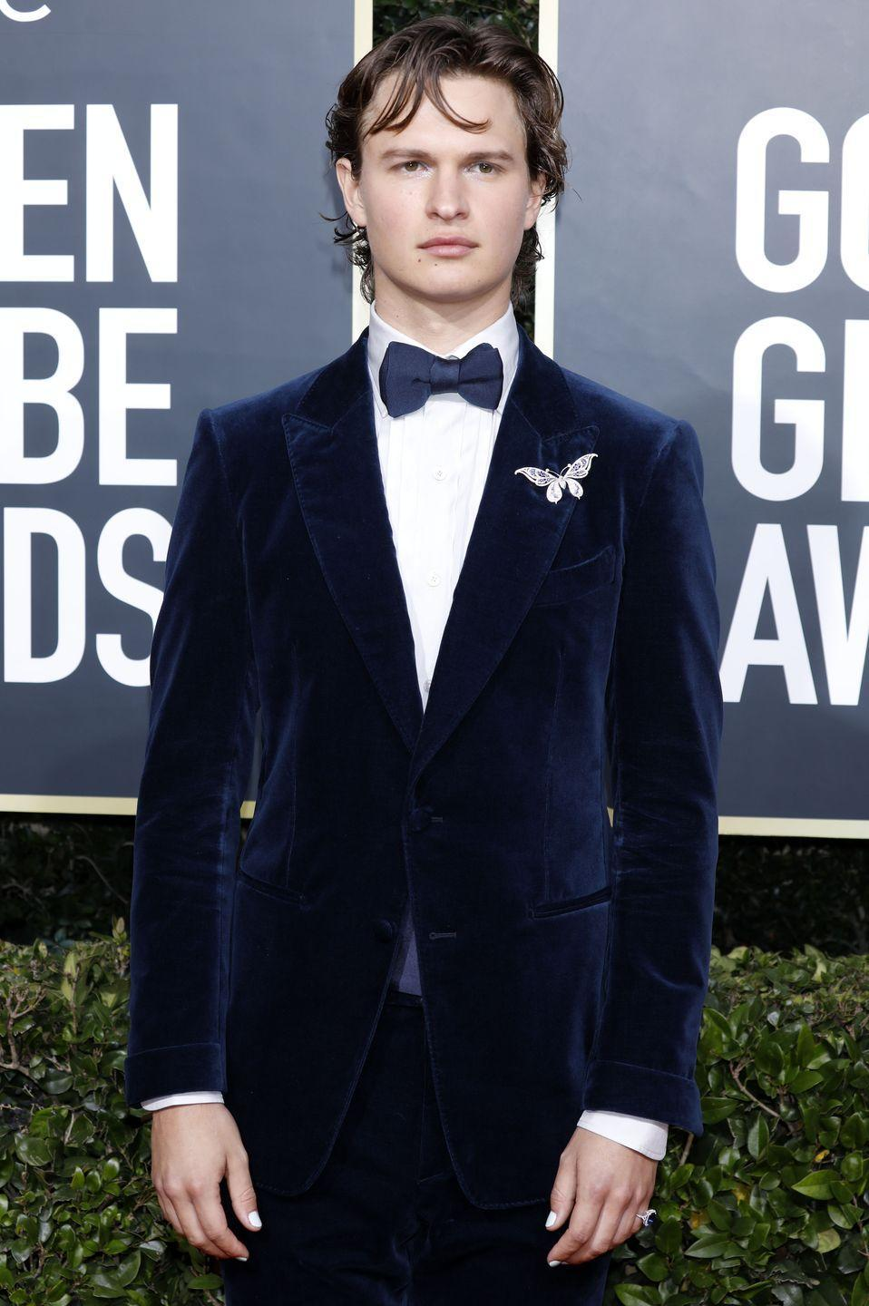 <p>Another young star in Hollywood who's grown up in front of the public eye. But his fashion choices have always been somewhat demure...</p>