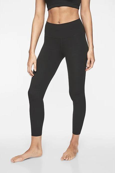 """<p><strong>Athleta</strong></p><p>athleta.gap.com</p><p><strong>$89.00</strong></p><p><a href=""""https://go.redirectingat.com?id=74968X1596630&url=https%3A%2F%2Fathleta.gap.com%2Fbrowse%2Fproduct.do%3Fpcid%3D1059481%26pid%3D293142&sref=https%3A%2F%2Fwww.goodhousekeeping.com%2Fhealth-products%2Fg4042%2Fbest-workout-leggings%2F"""" rel=""""nofollow noopener"""" target=""""_blank"""" data-ylk=""""slk:Shop Now"""" class=""""link rapid-noclick-resp"""">Shop Now</a></p><p>Athleta's signature <a href=""""https://go.redirectingat.com?id=74968X1596630&url=https%3A%2F%2Fathleta.gap.com%2Fbrowse%2Fcategory.do%3Fcid%3D1125067&sref=https%3A%2F%2Fwww.goodhousekeeping.com%2Fhealth-products%2Fg4042%2Fbest-workout-leggings%2F"""" rel=""""nofollow noopener"""" target=""""_blank"""" data-ylk=""""slk:Powervita"""" class=""""link rapid-noclick-resp"""">Powervita</a> fabric is buttery smooth and used in an assortment of styles, including these fan favorite Elation Tights. They're <strong>easy to move around in, yet have a slightly compressive fit</strong><strong> to support you during workouts.</strong> The best part: These come in seemingly infinite options so everyone can find their best variation. For sizes you can choose from regular, tall, petite, or plus. There's also an <a href=""""https://go.redirectingat.com?id=74968X1596630&url=https%3A%2F%2Fathleta.gap.com%2Fbrowse%2Fproduct.do%3Fpid%3D502359002&sref=https%3A%2F%2Fwww.goodhousekeeping.com%2Fhealth-products%2Fg4042%2Fbest-workout-leggings%2F"""" rel=""""nofollow noopener"""" target=""""_blank"""" data-ylk=""""slk:Ultra High-Rise"""" class=""""link rapid-noclick-resp"""">Ultra High-Rise</a>, a <a href=""""https://go.redirectingat.com?id=74968X1596630&url=https%3A%2F%2Fathleta.gap.com%2Fbrowse%2Fproduct.do%3Fpid%3D353805002&sref=https%3A%2F%2Fwww.goodhousekeeping.com%2Fhealth-products%2Fg4042%2Fbest-workout-leggings%2F"""" rel=""""nofollow noopener"""" target=""""_blank"""" data-ylk=""""slk:Capri"""" class=""""link rapid-noclick-resp"""">Capri</a>, a <a href=""""https://go.redirectingat.com?id=74968X1596630&url=https%3A%2F%2Fathleta.gap.com%2Fbrowse"""
