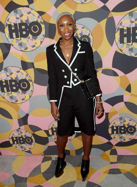 PHOTO: Cynthia Erivo attends HBO's Official Golden Globes After Party at Circa 55 Restaurant on Jan. 5, 2020 in Los Angeles. (David Livingston/Getty Images)