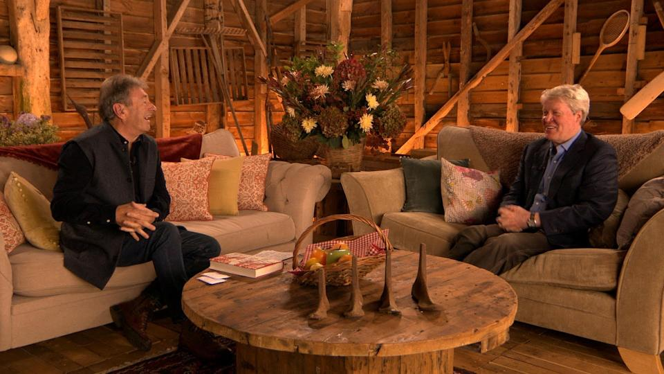 Love Your Weekend with Alan Titchmarsh, Alan sits down with Earl Spencer (ITV)
