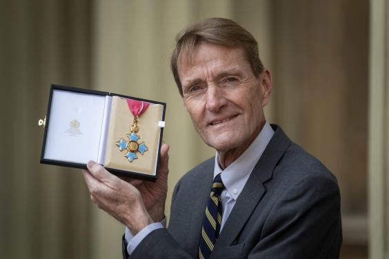 Lee Child was awarded a CBE for services to literature in February 2020 (Getty)
