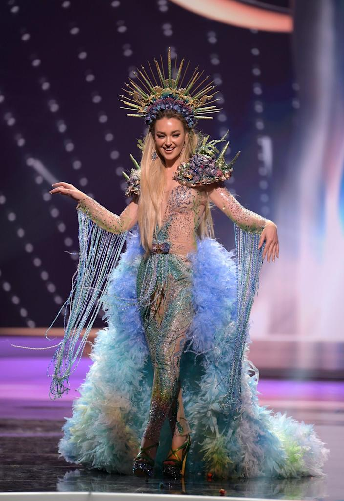 Miss Chile National Costume Show 2021