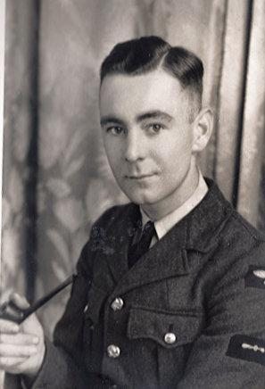 Jack Annall when he was in the RAF. (SWNS)