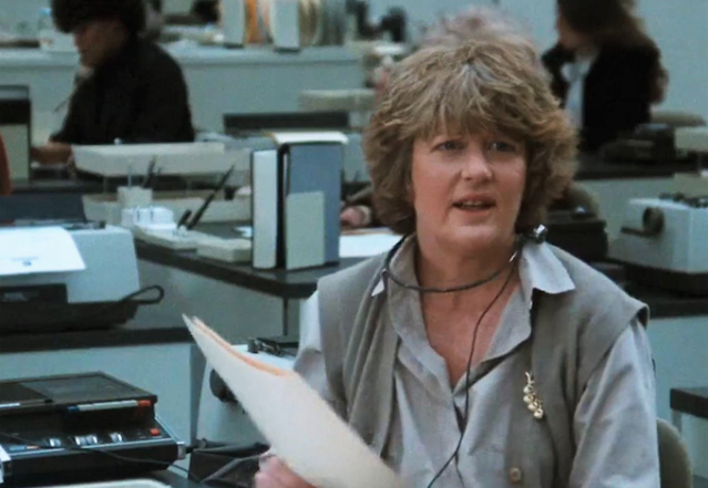 Peggy Pope in 9 to 5 (Credit: 20th Century Fox)