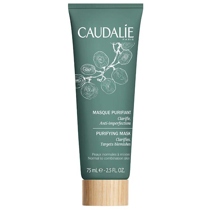 caudalie, best face masks for acne prone skin