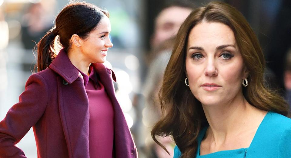 Meghan Markle and Kate Middleton reportedly don't get on. [Photo: Getty]