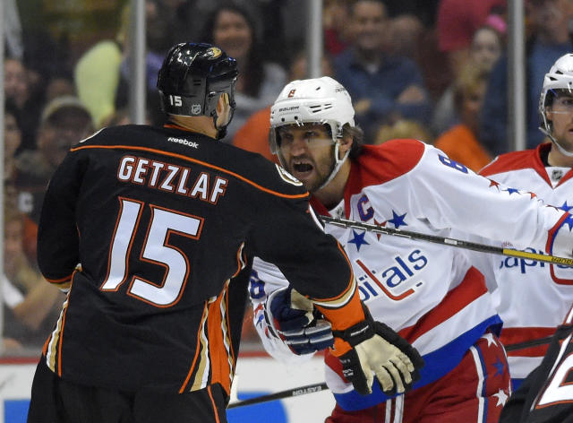 Ryan Getzlaf blasts Alex Ovechkin for diving, 'embarrassing the game'