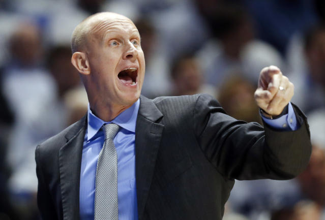 Chris Mack will make $4 million annually on his seven-year contract after agreeing to become Louisville's head coach. (AP)