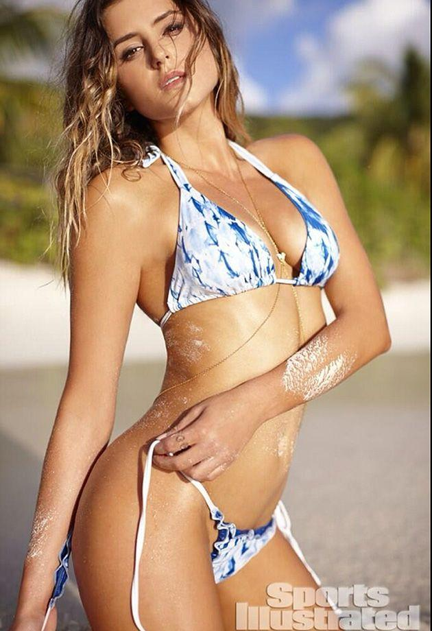 Ashley in Sports Illustrated. Pic: Twitter @AnastasiaAshley