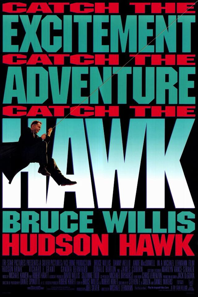"<p><a href=""http://movies.yahoo.com/movie/hudson-hawk/""><b>Hudson Hawk</b></a><br> Release date: May 24, 1991<br> Estimated budget: $65 million<br> U.S. gross: $17.2 million</p>"