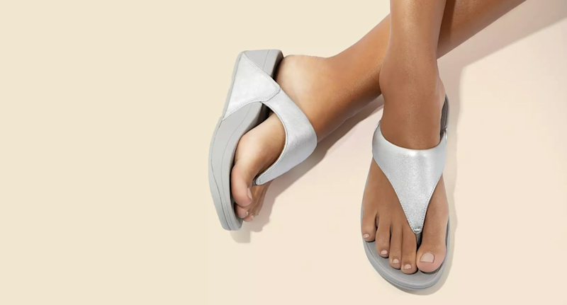 Fitflop's summer sale is on now - save up to 50% on comfortable sandals. Image via Fitflop.