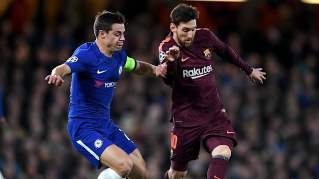 Lionel Messi put a dampener on the Blues' night, but the defender feels his side should have got the better of the first leg after a dangerous display