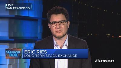 Eric Ries, Long-Term Stock Exchange CEO, discusses how his newly-formed stock exchange is looking to overhaul the way firms publically list their shares.