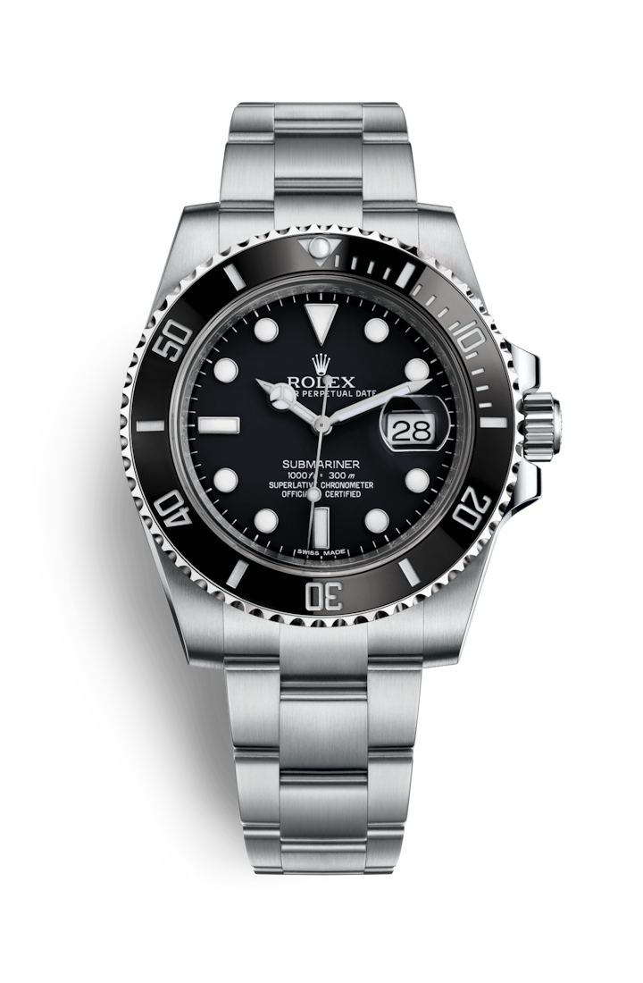 """<p>You don't go to Rolex for new new watches – its most recent original launch was the Yachtmaster, back in 1992. Instead, you get incremental upgrades to a portfolio of classics. A new case here, a different size there. Even so, its headline release for 2020 felt particularly audacious – a new version of its benchmark product, the Submariner with – wait for it – 1mm extra added to the case. And yet… (A) that fact obscured a number of even more subtle tweaks, the first upgrades in 12 years: a wider bracelet, thinner lugs and Rolex's most up-to-date calibre and (B) it's the nicest Submariner yet. Now, good luck trying to get hold of one.</p><p>£6,450; <a href=""""https://www.rolex.com/"""" rel=""""nofollow noopener"""" target=""""_blank"""" data-ylk=""""slk:rolex.com"""" class=""""link rapid-noclick-resp"""">rolex.com</a></p>"""