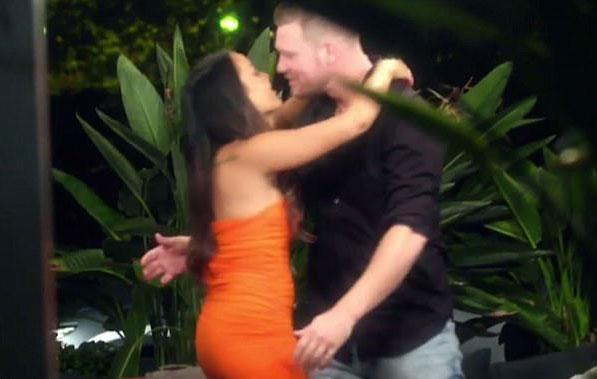 Oh, the time Davina and Dean 'emotionally cheated'. Source: Channel Nine