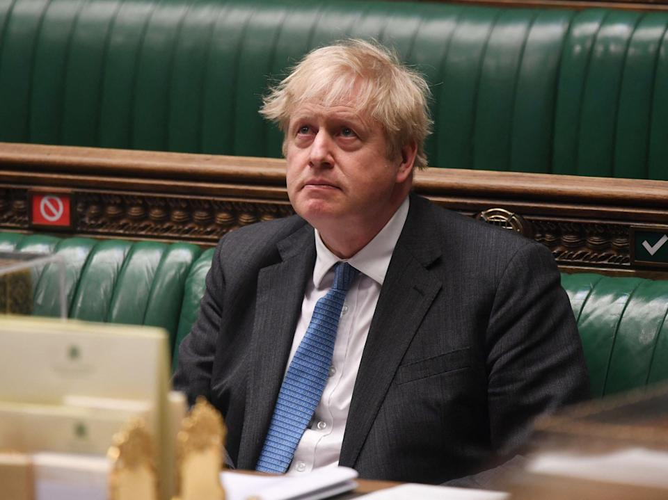 <p>Boris Johnson has been clear about what he thinks the Downing Street flat story means to voters</p> (AFP via Getty Images)